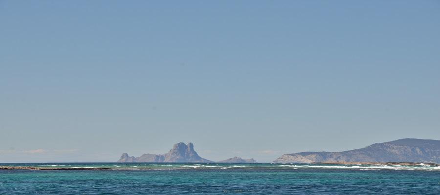 Rutas en barco en Ibiza