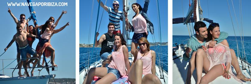 vacaciones en velero en ibiza 2019
