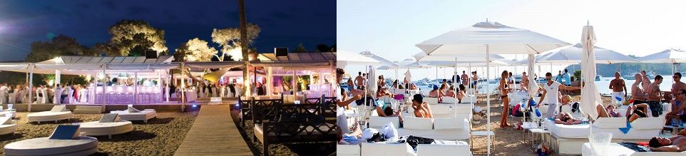 beach club blue marlin en ibiza