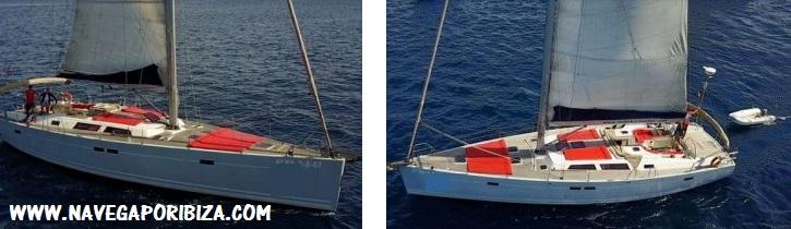alquiler semana barco en ibiza