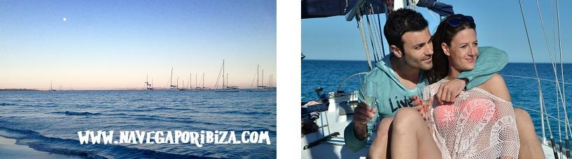 Actividades en ibiza, noche romantica en barco