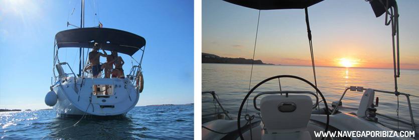barco pequeño para alquilar en ibiza