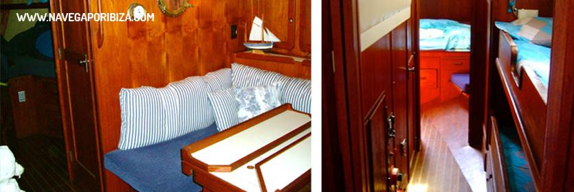 velero para alquilar en ibiza