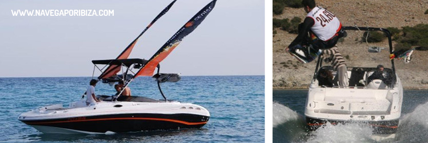 practica wake board en ibiza