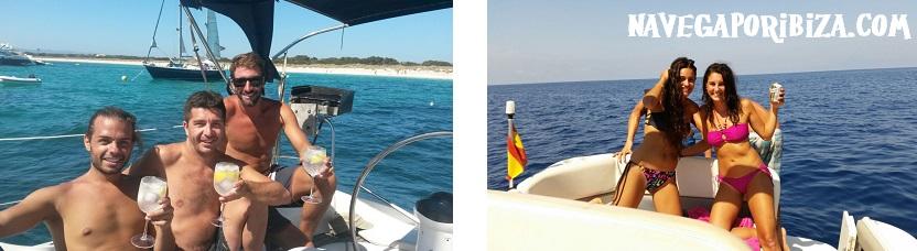 alquiler barco en ibiza y formentera